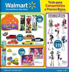 Folleto Walmart del 12 al 25 de abril