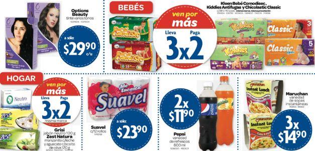 Farmacias Benavides: 2x1 en tintes Imédia y Excell, 3x2 en pañales Kleenbebé y +