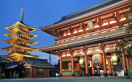 Vuelo redondo a Japón desde 633 dólares (de GDL $633, del DF $689)