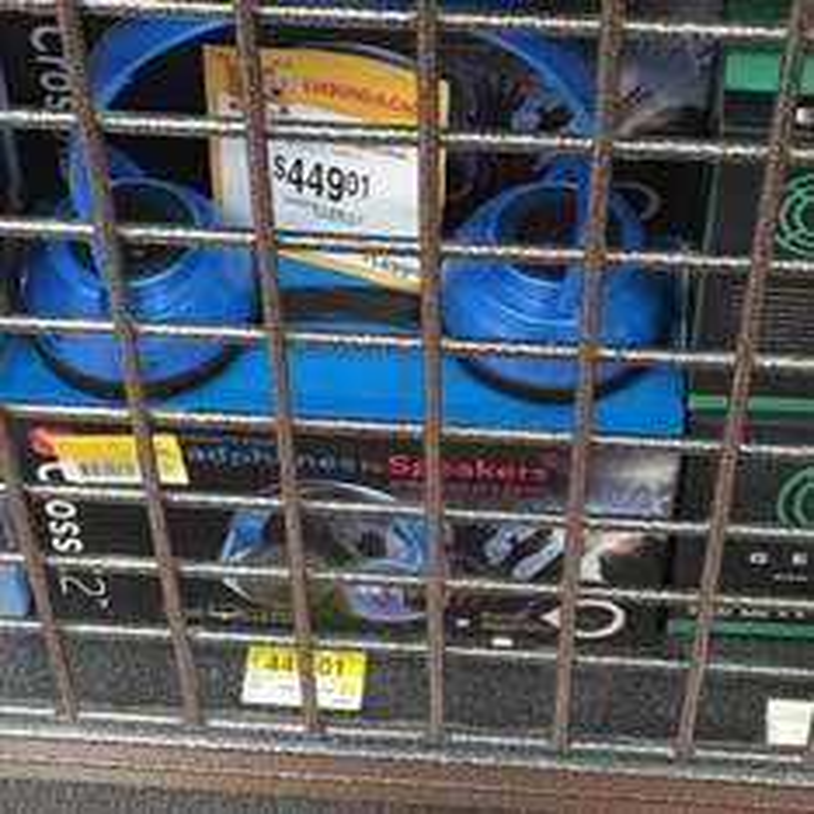 Walmart Perisur (CDMX): audífonos-bocinas a $449.01