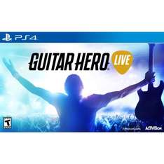 Gameplanet: Guitar Hero Live para Playstation 4 con una Guitarra a $1,235