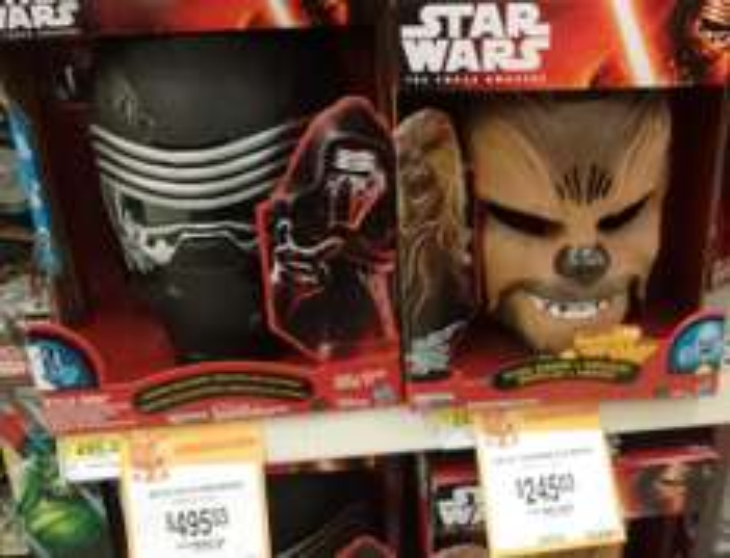 Walmart: Mascara de Chewbacca a $145.03