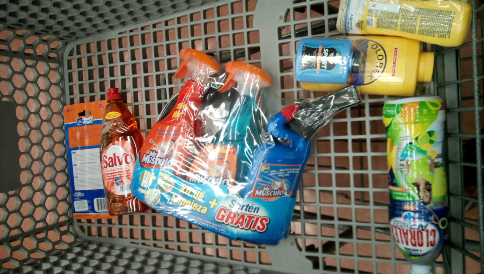 Walmart: Kit de limpieza Mr. MúsculoS + Sarten Ecko