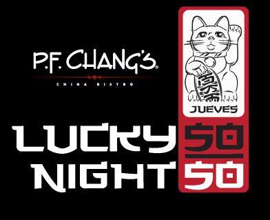 Lucky Nights P.F. Chang's: bebidas y entradas a $50 todos los jueves