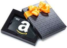 Amazon USA: Compra giftcard de USD$100 y te dan $5