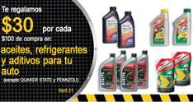 Comercial Mexicana: descuentos en pilas, focos, aceites para autos y más