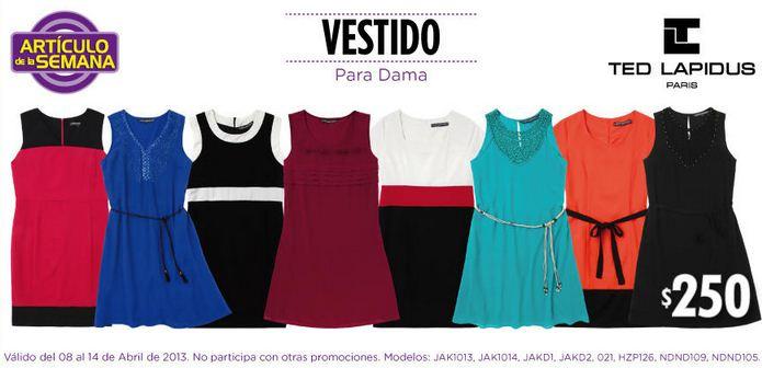 Artículo de la semana Suburbia: vestido para dama a $250