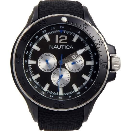Amazon MX: Nautica N18673G NST Reloj clásico multifuncional de aluminio para hombre $797 con cupon Banamex