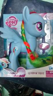 Walmart Puerta Texcoco: My Little Pony Rainbow Dash de $189 a $65.03