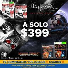 Game Planet: Batman Arkham City Game of the Year Edition $399 y otras rebajas