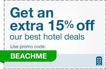 Cupones de descuento en hoteles: 15% en Orbitz.com y 10% en Hoteles.com