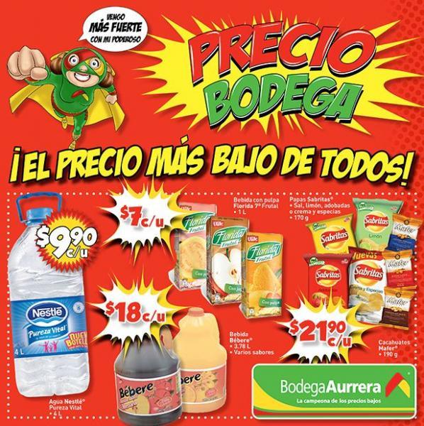 Bodega Aurrera: pintura 1 litro $9.90, 2 botellas Bacardí Añejo 1L por $199 y +