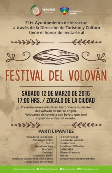 Festival del Volovan: Volovanes gratis, solo Veracruz