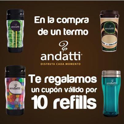Oxxo: 10 cafés gratis (refills) comprando termo