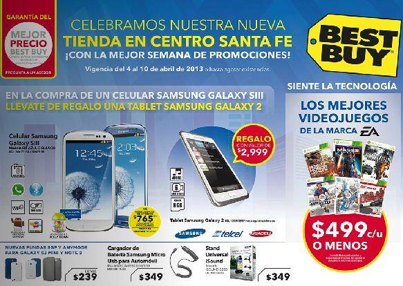 Best Buy: 20% de descuento en pantallas Samsung, 25% en cámaras SLR Nikon y más
