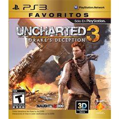 Sanborns en línea: Juegos de PS3 Favoritos a $149 (Envío Gratis a Partir de Compras de $300)