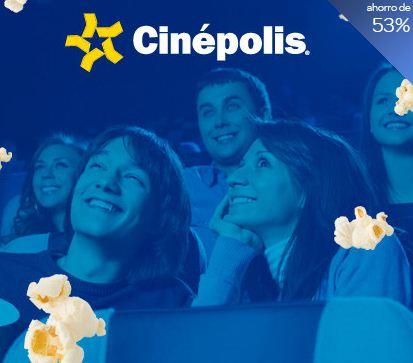Clickonero: boletos para Cinépolis a $31