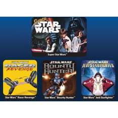 BoxedDeal: 4 Star Wars Classic Games para Playstation 4 por $14USD, Star Wars Battlefront por 27USD ($503 MXN aprox)