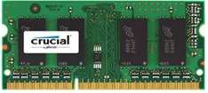 Amazon: Memoria RAM 8GB Crucial para Laptop $500