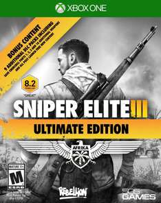 AMAZON: Sniper Elite III Ultimate Edition para Xbox One $357