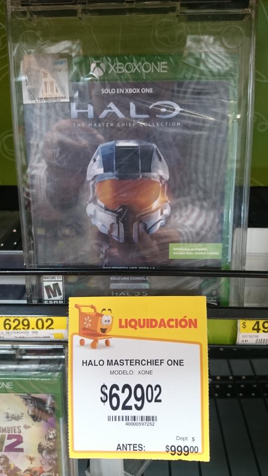 Walmart Colima: Halo master chief collection para Xbox One a $629.02