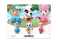 LIVERPOOL: AMIIBO 3-PACK ANIMAL CROSSING A $159