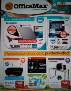 Folleto OfficeMax abril 2013