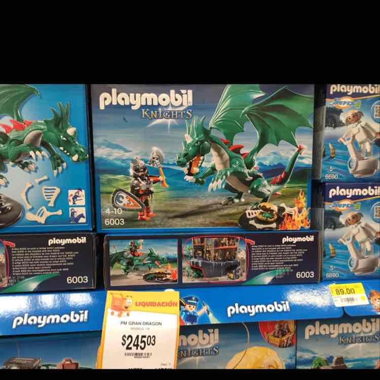 Walmart: Varios sets de playmobil en terminación .03