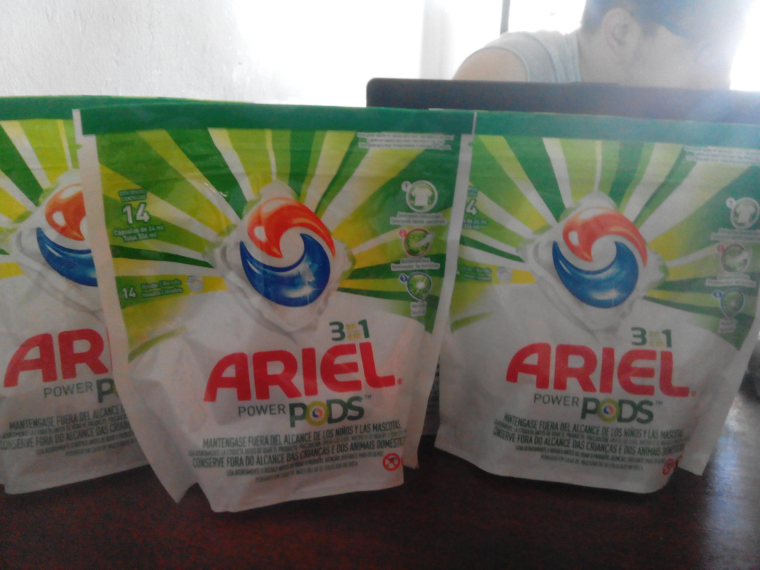 Chedraui Zona Norte (tampico-altamira): Ariel power pods 3 en 1