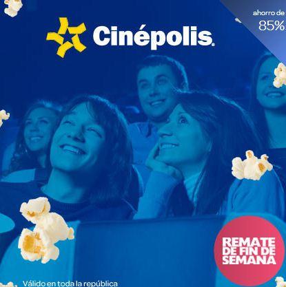 clickOnero: boletos para Cinépolis a $10