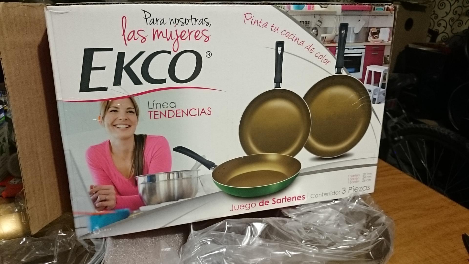 Walmart Alijadores Tampico: Batería de cocina Ecko 150.02 y más!!!!!!!