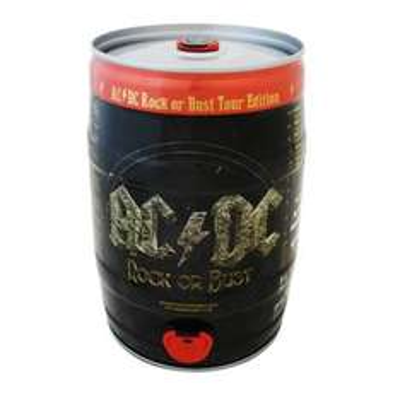 Superama en línea: Barril de cerveza edición AC/DC al 2x1