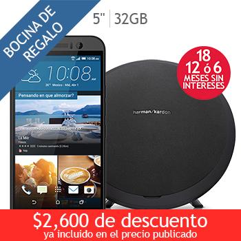 Costco en línea: HTC LTE One M9 gris + bocina BT Harman Kardon a $10,399