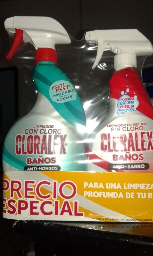 Bodega Aurrerá Puebla: paquete Cloralex a $15.01
