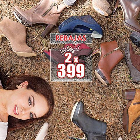 Arantza: 2 pares de zapatos x $399