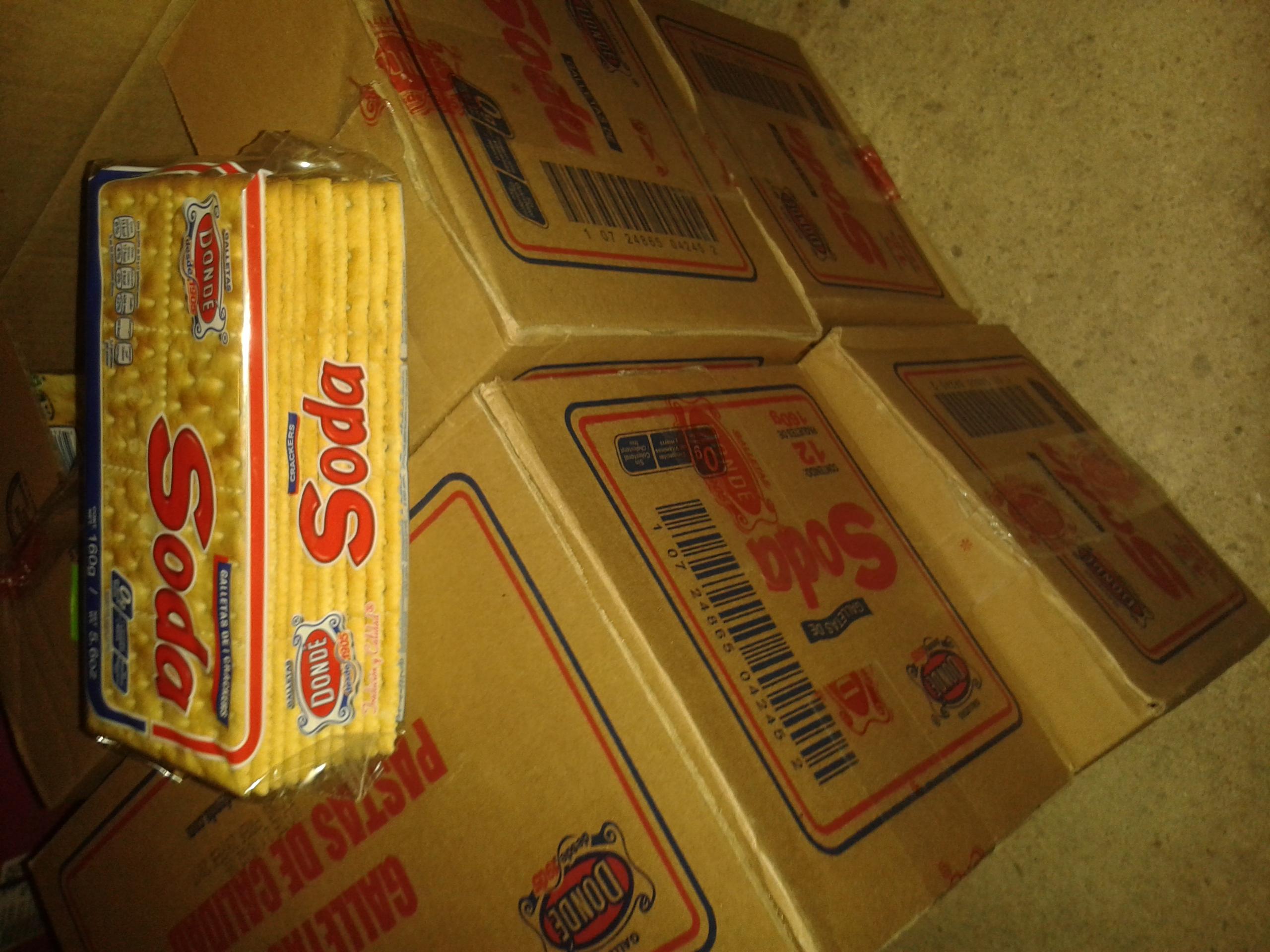 Chedraui Campeche Santa Ana: galleta soda a $2.95 y con descuento a $2.65
