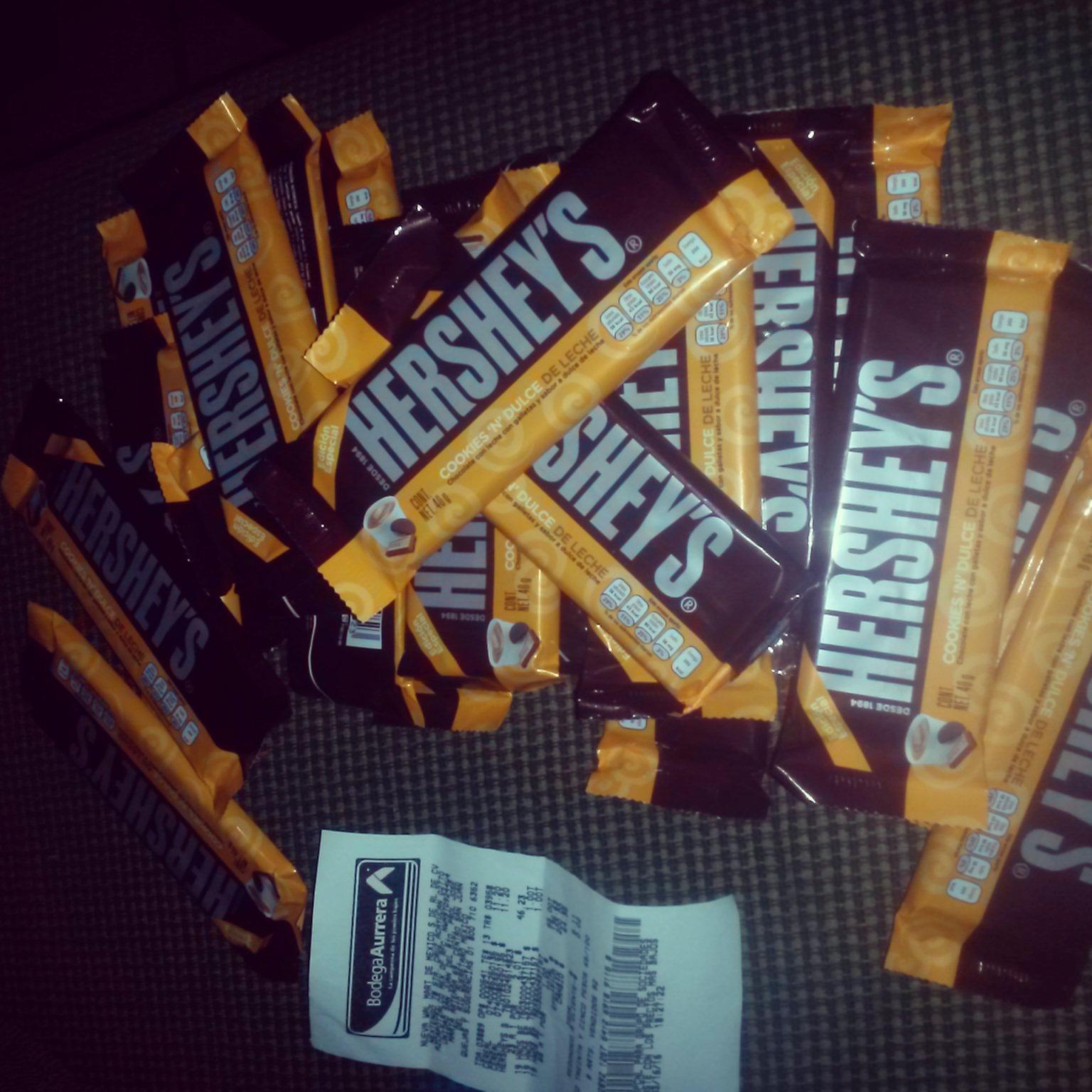 Bodega Aurrerá: Chocolate Hershey's a $2.01