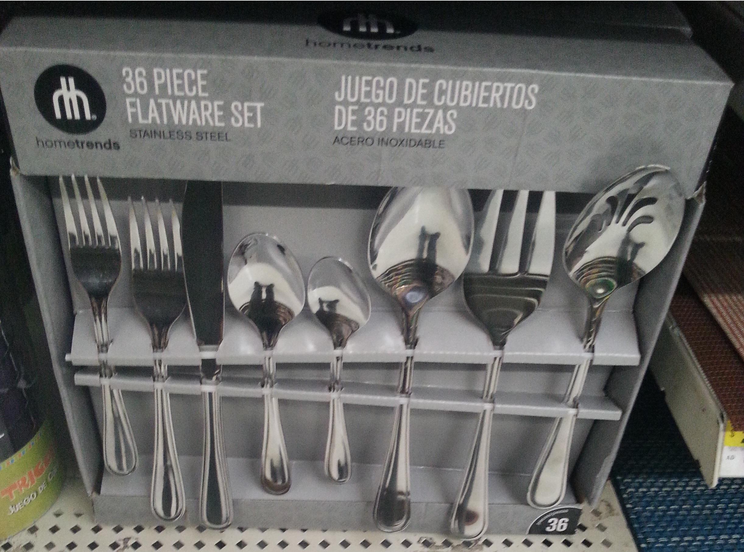 Walmart: Juego de Cubiertos 36 Piezas (6personas) a $245 y otras ofertas mas...