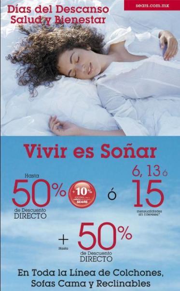 Sears: promociones en muebles, equipajes, línea blanca y más