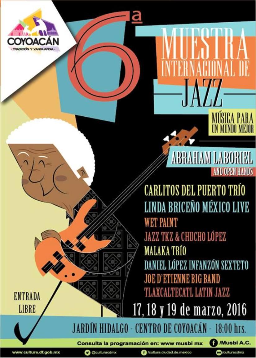 6° Muestra Internacional de Jazz en Coyoacán