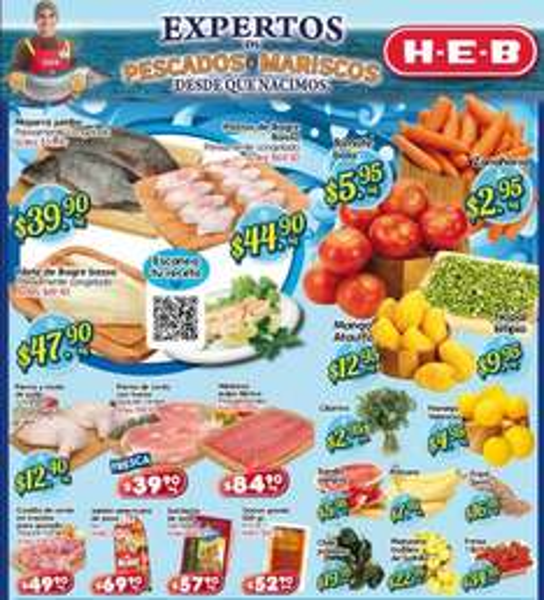 Frutas y verduras HEB: zanahoria $2.95, tomate $5.95 y más
