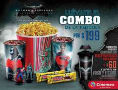 Cinemex: Combo Batman vs Supernan