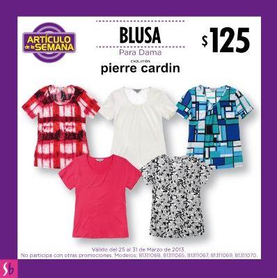 Artículo de la semana Suburbia: blusa para dama $125