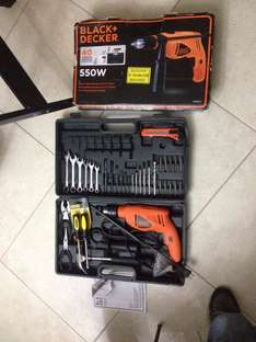 Walmart: kit de rotomartillo Black & Decker a $325.02