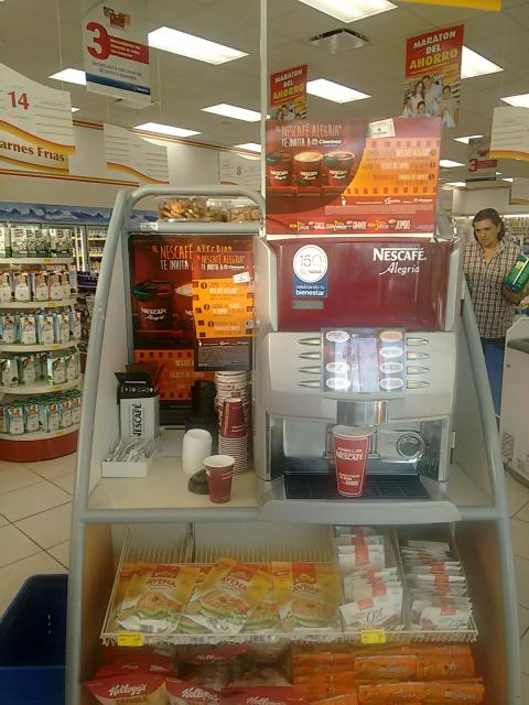 Boleto de cine gratis comprando 3 cafés Nestlé