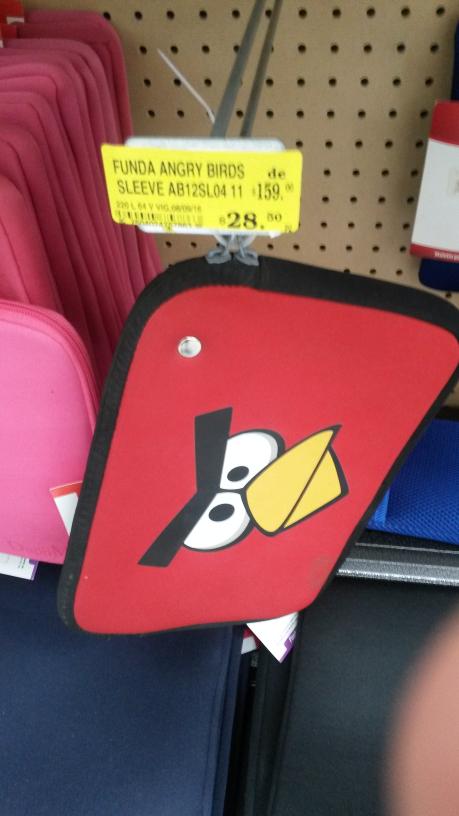 Soriana: Funda para tablet de Angry Birds a $28.50