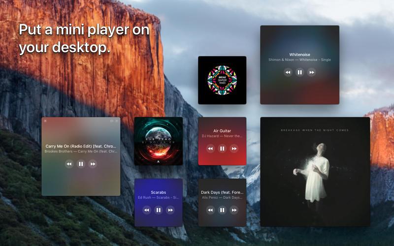 AppStore Silicio Widget Reproductor de Música GRATIS tiempo limitado