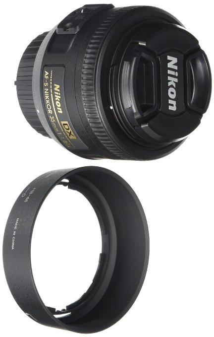 Amazon: Lente Nikon AF-S DX NIKKOR 35mm f/1.8G a $302