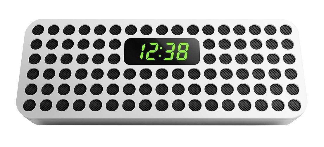 Amazon MX: Bocina Philips SBT310W/85 Bocina Bluetoth Inalámbrica con Reloj Digital, blanco a $256.96