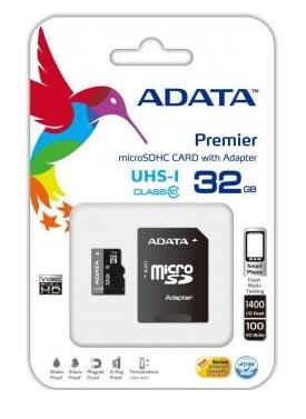 Linio: Memoria MicroSDHC 32GB UHS-I Clase 10 con Adaptador SD Adata
